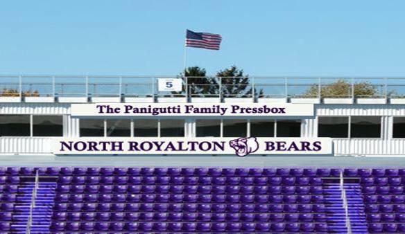 The Panigutti Family Pressbox seats