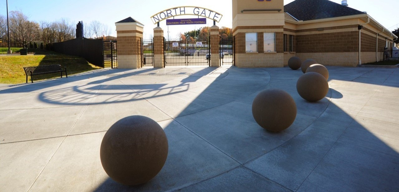 North Gate entrance to Serpentini Chevrolet Stadium