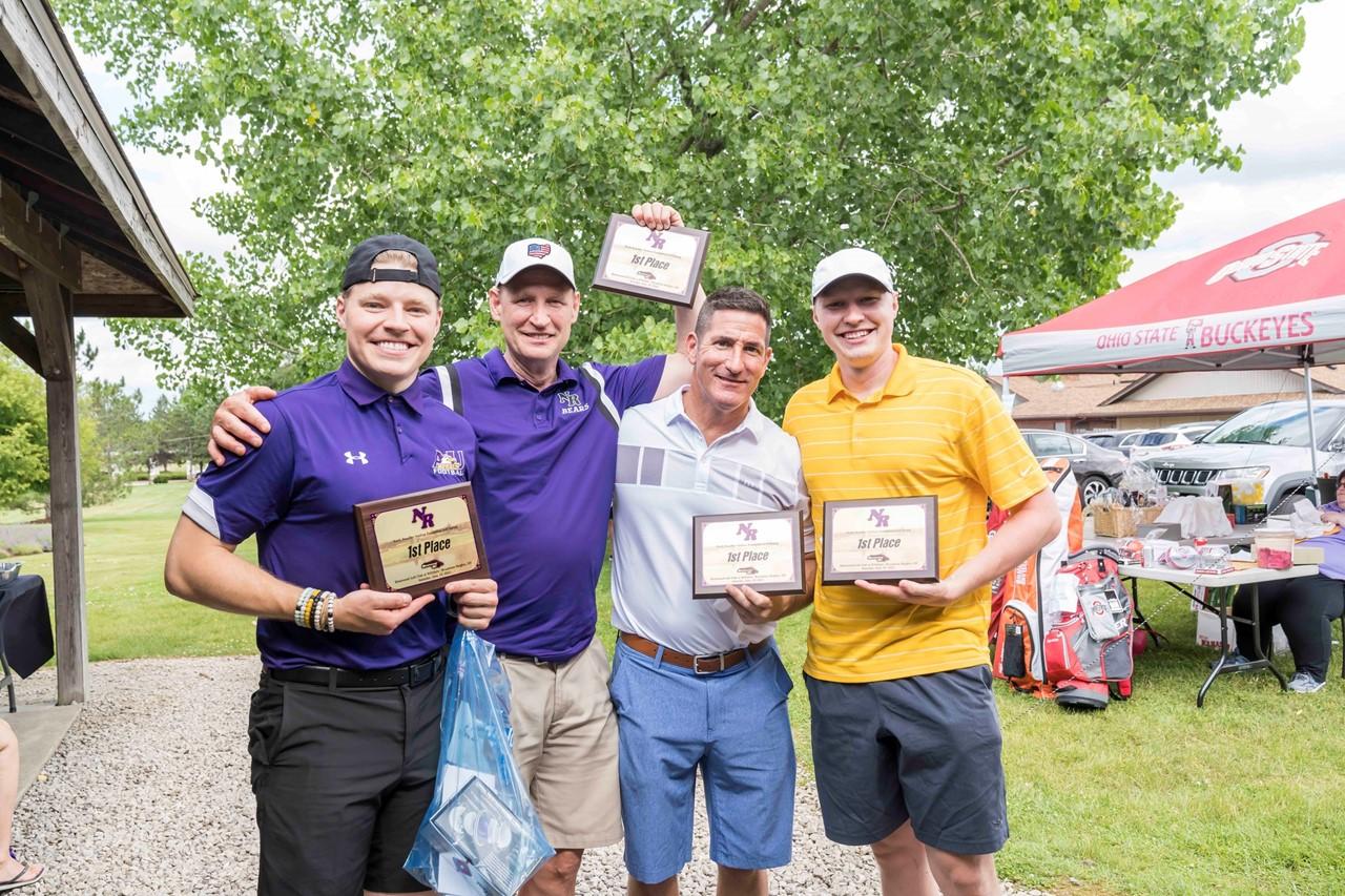 2021 NRSF Golf Outing Winners:  Tarnowski Team